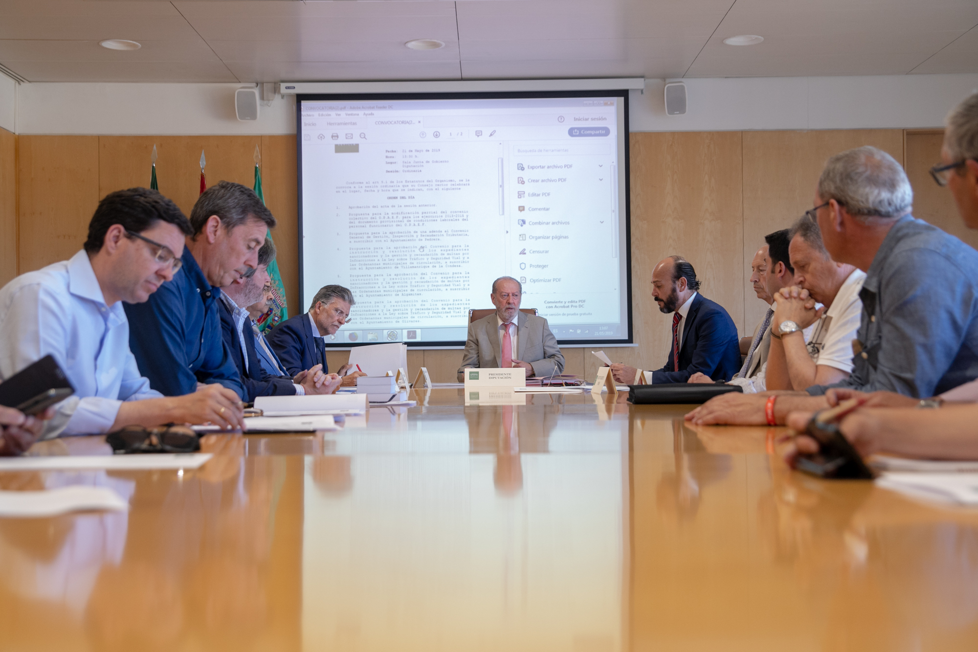 190521 consejo rector OPAEF -inversiones sostenibles